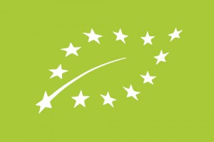 Unijne logo rolnictwa ekologicznego.
